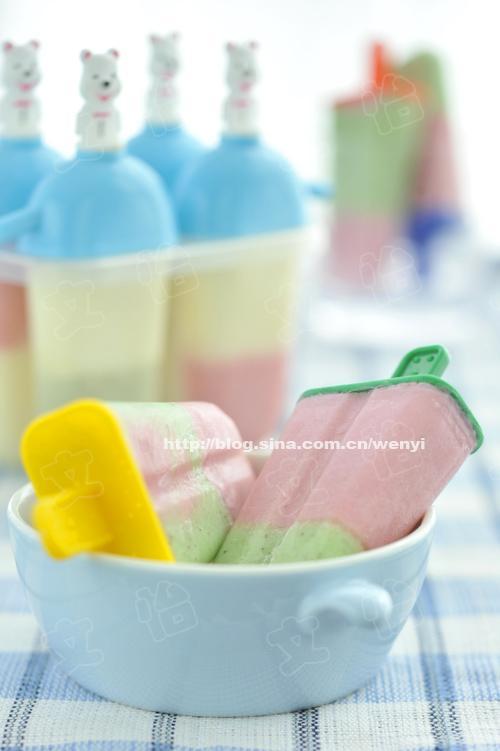 自制果味小冰棍的做法(甜品)