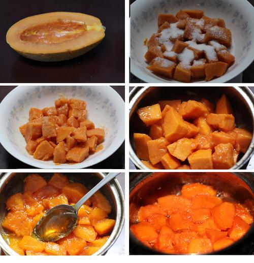 木瓜果酱的做法(水果酱)