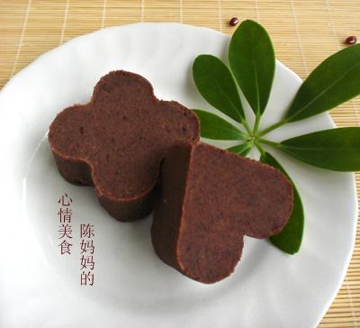 柠香红豆沙的做法(甜品)