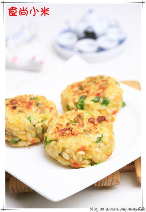 杂粮小饭团的做法(早餐菜谱)