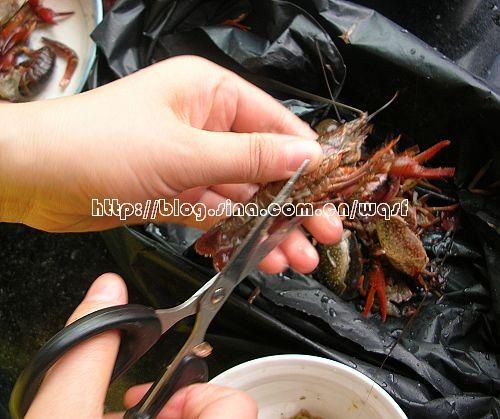 鲜煮小龙虾的做法