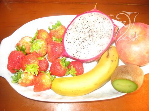酸奶水果沙拉的做法,详细步骤图解