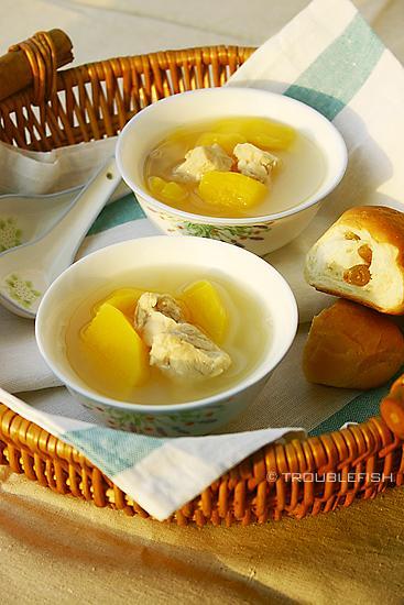 木瓜猪肺汤的做法