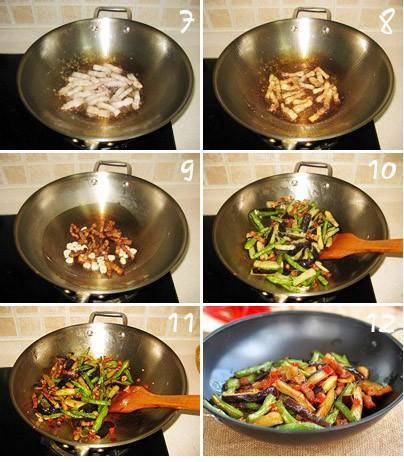 干锅茄子扁豆_如何做,怎么做,干锅茄子扁豆的做法 ...
