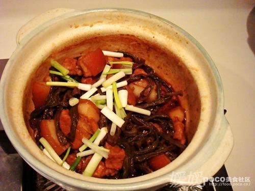 干豆角炖红烧肉的做法