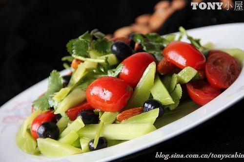 蔬果凉拌菜的做法,详细步骤图解