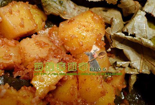 详细步骤图解    3,土豆去皮切成方块状
