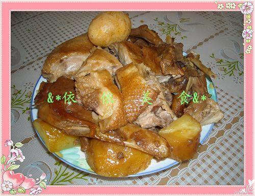 怎么做土豆焖鸭的做法,详细步骤图解  土豆焖鸭的做法 材料:鸭子半只