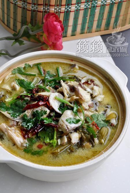 怎么做水煮酸菜鱼的做法