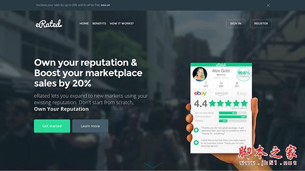 创业公司精雕细琢的17个优秀网页设计