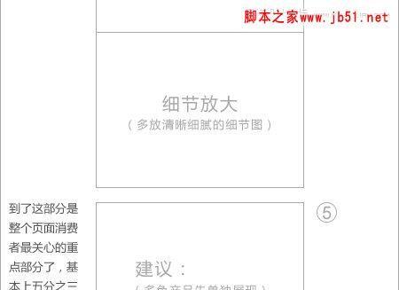 对淘宝网站的宝贝详情描述页页面设计的分析与看法(图)