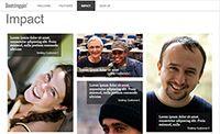 Bootstrap 网站实例之单页营销网站