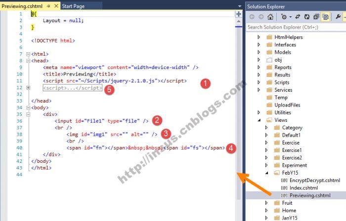 ASP.NET MVC图片上传前预览简单实现